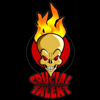 UK Booking Agency - CRUCIAL TALENT - click this logo to visit their website
