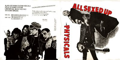 The Physicals 'All Sexed Up' EP. Click image to enlarge.