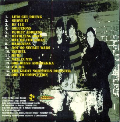 Promo Back Cover