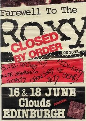 Roxy on tour...