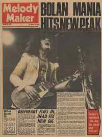 Melody Make front cover from 1972