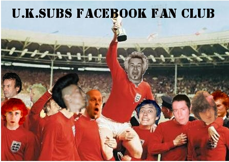 Join The U.K.Subs Fan Club on Facebook
