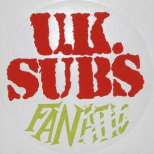 Fan Club Sticker - red & green