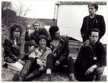 UK Subs (& friends) at Glastonbury 1979