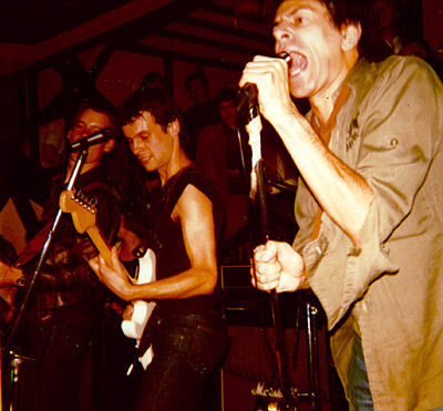 Western Counties gig picture October 1977 - Slack, Garratt & Harper