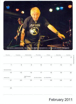 2011 Calendar - February