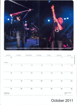 2011 Calendar - October. Click to enlarge.
