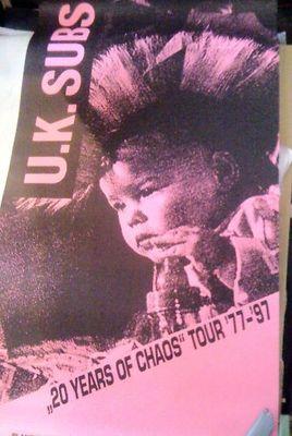 1997 Tour Poster