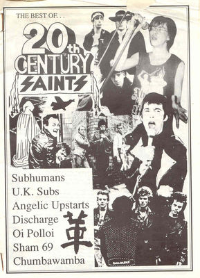 From the Mark Chadderton UK Subs collection