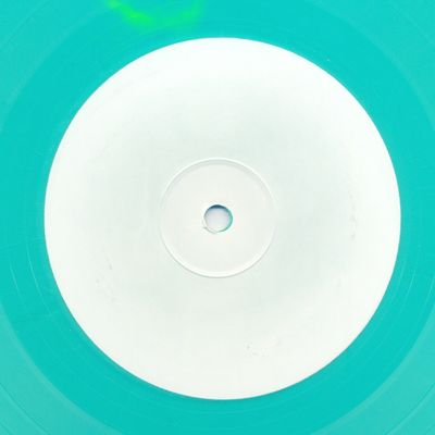 Aqua Blue Vinyl Side B