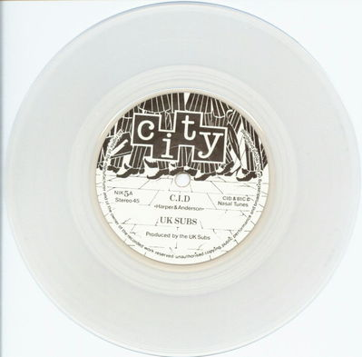 Clear Vinyl A-Side