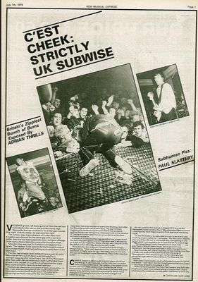 NME 7th July 1979 page 7