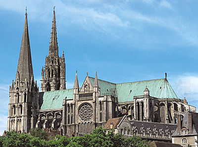 Chartres Cathedral - click to enlarge