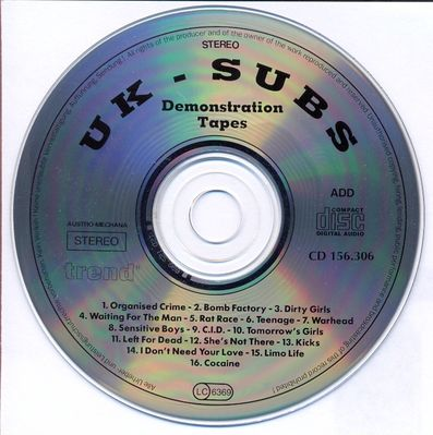 Demonstration Tapes Disc
