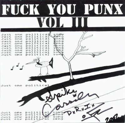 Fuck You Punx Front Cover