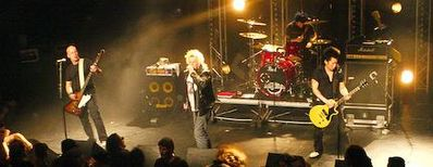 On Stage in  Limoges, France 23/4/2010