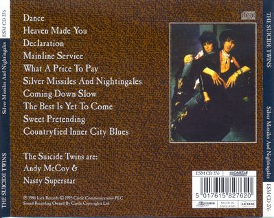 ESM CD 276 back cover