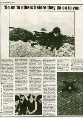 Melody Maker article page 2