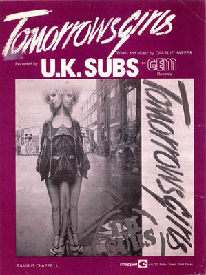 From the Rob Cook UK Subs collection
