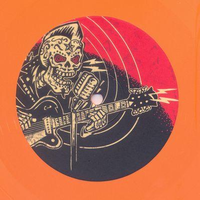 Orange Vinyl Side 2
