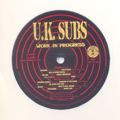 White Vinyl Side 1