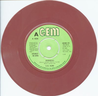 Brown Vinyl A-Side