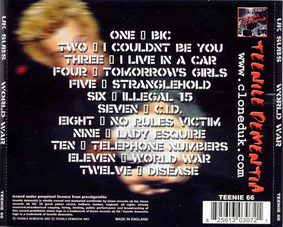 TEENIE66 back cover