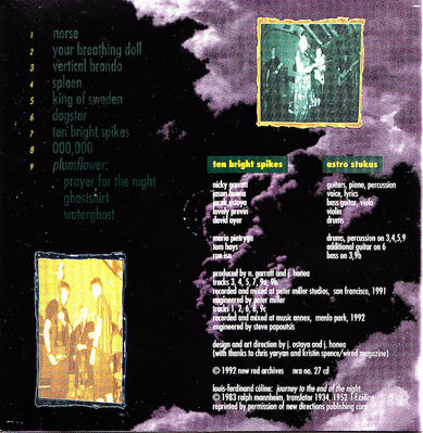 Astro Stukas cover (CD inside) - click to enlarge