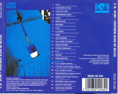 DOJOCD226 back cover