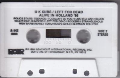 White cassette side 2