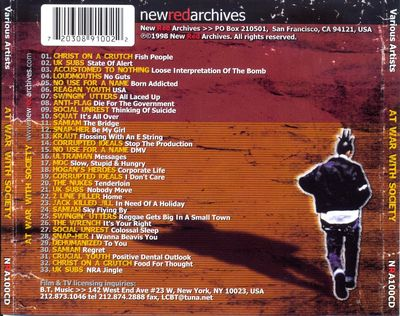 NRA100CD back cover