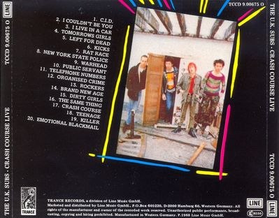 TCCD9.00675 back cover