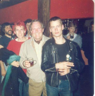 Pete Davies, Pete's Dad & Steve Slack