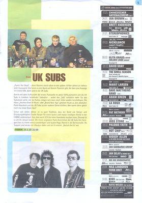Fabrik Jan 2010 Programme Page 5