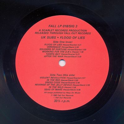 FALL LP018/SIG3 Side 2