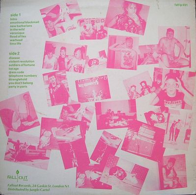 FALL LP031 pink on green back cover