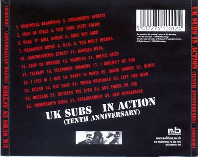 CDRNB001 back cover
