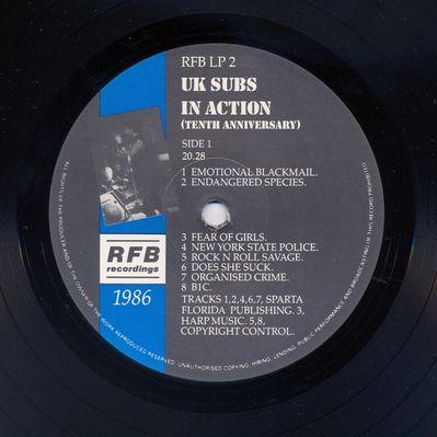 RFBLP2 Black vinyl Side 1
