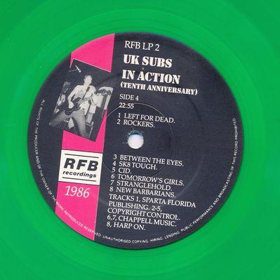 RFBLP2 Green vinyl Side 4