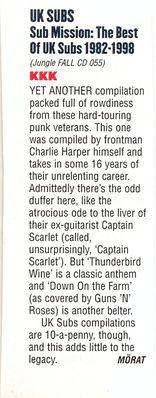 Kerrang Magazine review