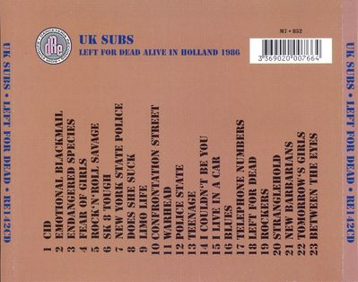 RE142CD back cover