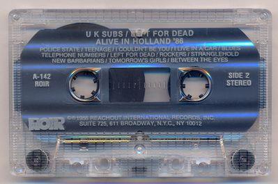 Clear cassette, side 2