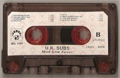 Cassette B side