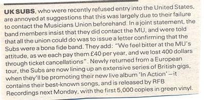 NME press article