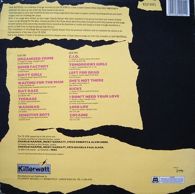 KILP2001 back cover