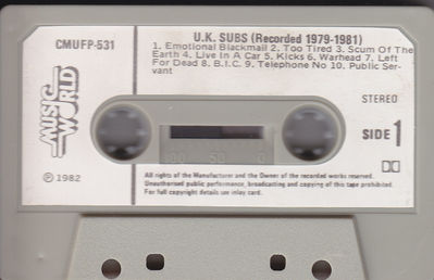 Cassette side 1