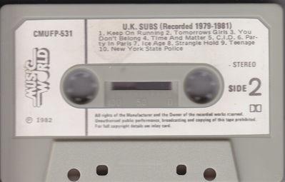 Cassette side 2