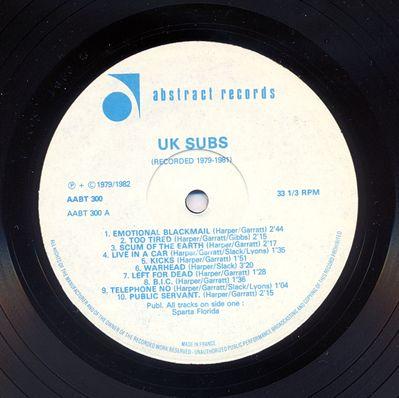 AABT300 Black vinyl Side A