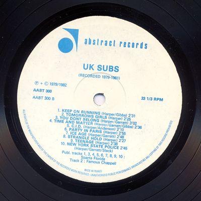 AABT300 Black vinyl Side B