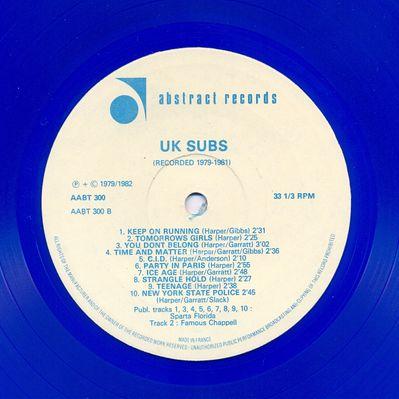 AABT300 Blue vinyl Side B